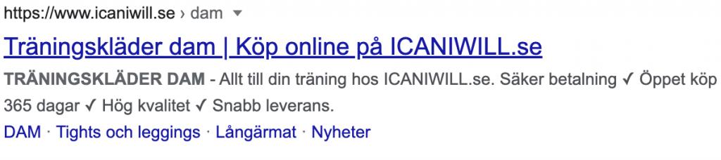 Meta-beskrivning ICANIWILL